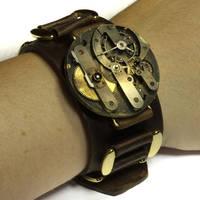 Steampunk Bracelet by CatherinetteRings
