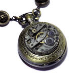 Steampunk Pocket Watch Necklace
