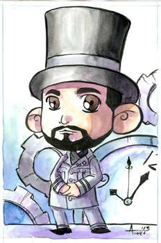Daniel Proulx Steampunk Artist by Agnes Garbowski