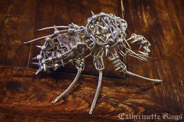 Steampunk Clockwork Spiky Archanid by TheWizardsVault