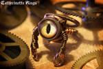 Steampunk Robot Ring