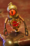 Jeeves the Steampunk Minion Robot