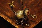 Little Steampunk Scorpion Robot Sculpture