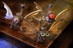 Steampunk Dragon Drones