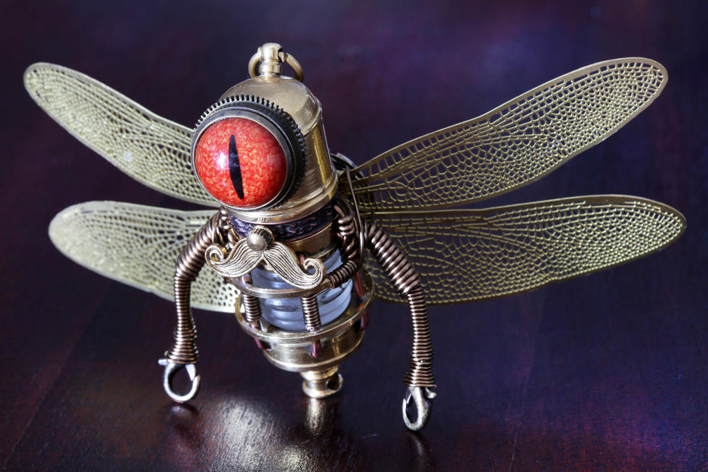 Steampunk Evil Fairy Minion by CatherinetteRings