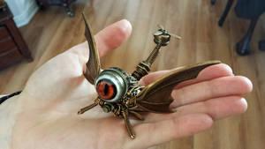 One eyed steampunk Dragon Drone