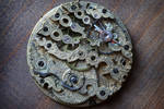 Antique watch movement for Steampunk