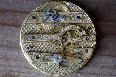 Antique watch movement for Steampunk 2 by CatherinetteRings