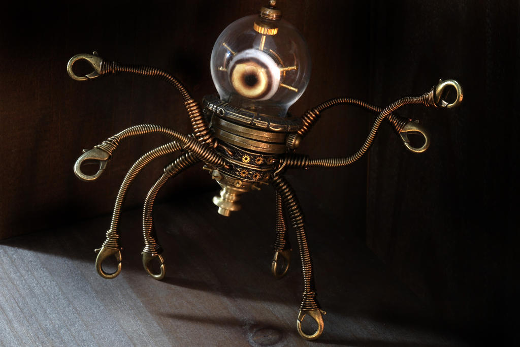 Steampunk Alien robot by CatherinetteRings on DeviantArt