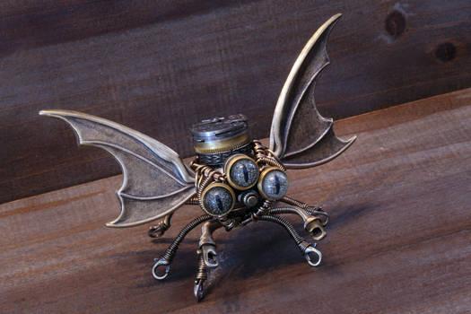 Steampunk Cthulhu Sculpture