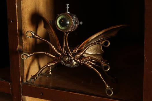 Steampunk Sculpture Monster