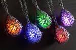 Elvish Glowing Drop Necklace