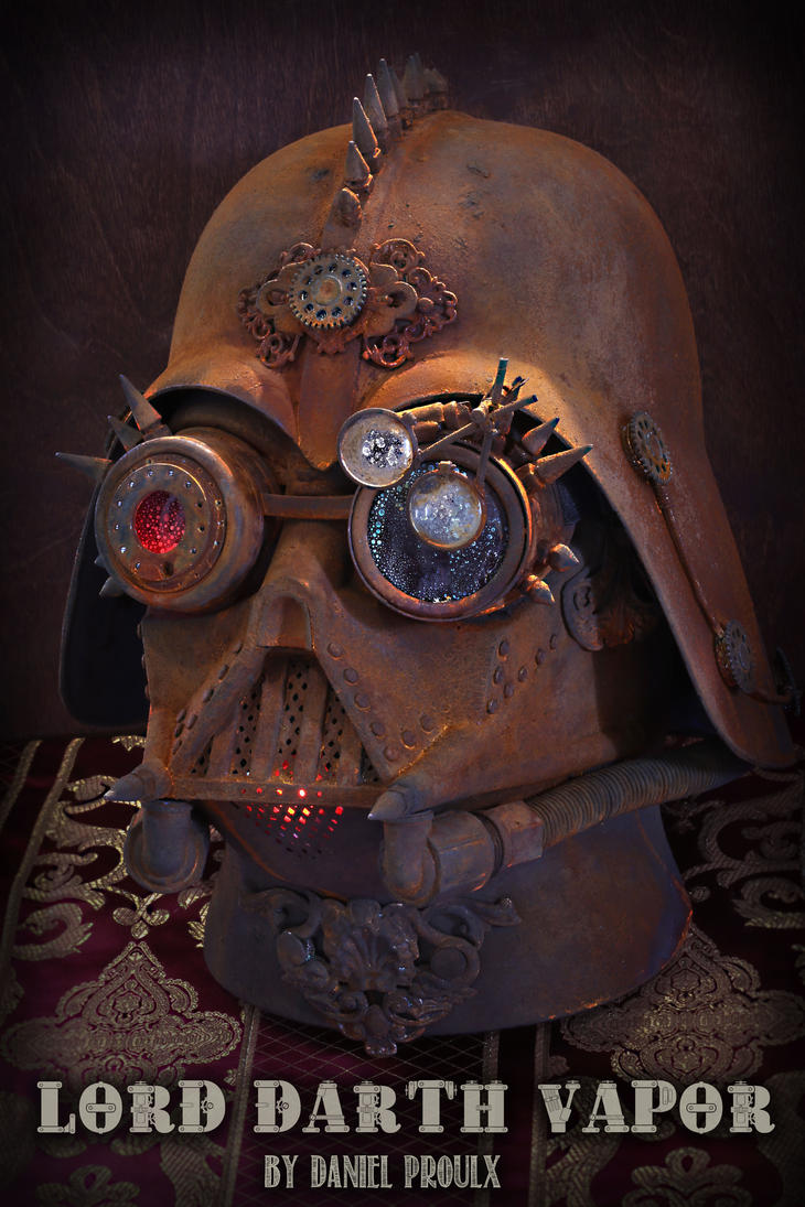Lord Darth Vapor Steampunk Vader by CatherinetteRings