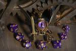 Purple eye modron dice guardian