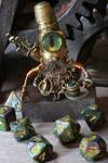Adventurer Steampunk Robot Dice Guardian
