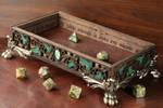 Elven dice rolling tray - The Wizards Vault