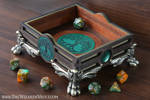 Tree of life dice tray by The Wizard's Vault by TheWizardsVault