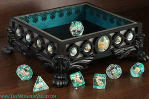 Seashell dice tray DND by TheWizardsVault