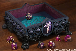 Succubus Dice Tray by TheWizardsVault