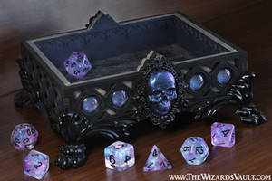 Necromancer Dice Rolling Tray - The Wizard's Vault by TheWizardsVault