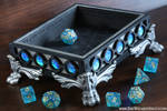 Galactic Ocean Dice Tray by TheWizardsVault