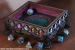 Dice tray - Tree of life with galaxy palette