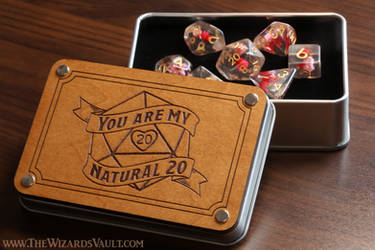 You are my natural 20 Dice box