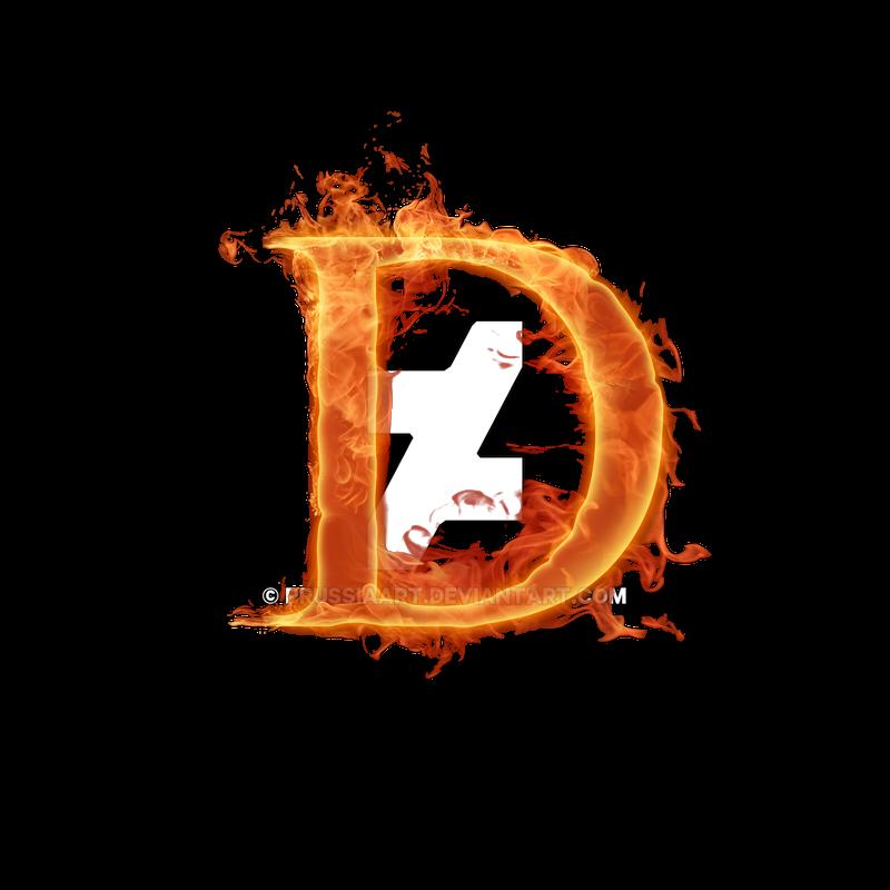 Fiery Font Letter D By Prussiaart On Deviantart