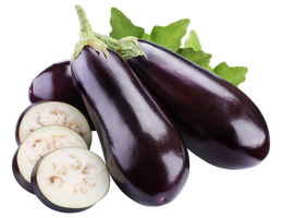 Eggplant on a transparent background. by PRUSSIAART