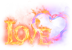 Frame for Photoshop ,Love. by PRUSSIAART