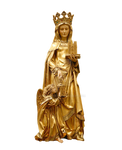 The Queen's Statue of Gold