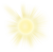 Sun on a transparent background. by PRUSSIAART