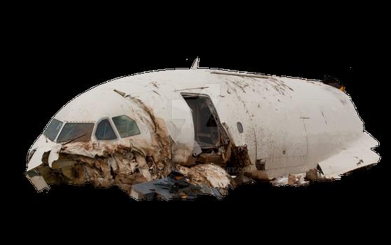 Air crash of a civilian aircraft.