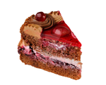 A piece of cake on a transparent background by PRUSSIAART