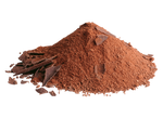 Cocoa powder on a transparent background. by PRUSSIAART
