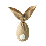 Rabbit paper bag folded