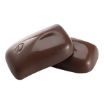Milk chocolate on a transparent background by PRUSSIAART