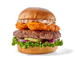 Burger on a transparent background. by PRUSSIAART
