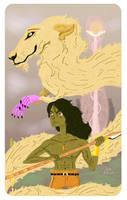 Atreyu and Fuchur by snogueira