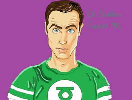 Dr.Sheldon Cooper PHD by Shamy-73