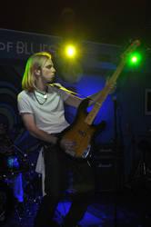 Bass Guitarist III by Lovunka