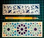 Papercut Bookmarks by SoulKittyHi5s