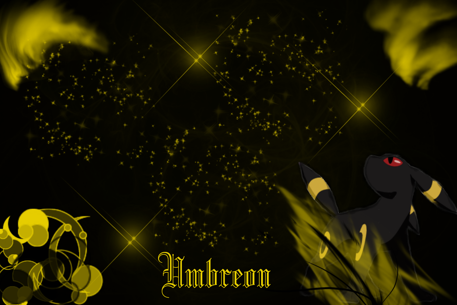 Umbreon Wallpaper by SlaveWolfy on DeviantArt