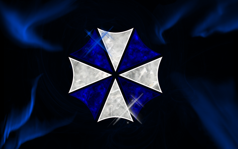 Blue Umbrella By SlaveWolfy