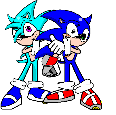 sonic and ice by icethehedgehog11