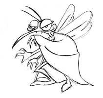 Mosquito- Blood Hunter scketch