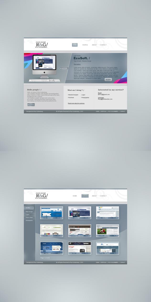 Portfolio 2 by RC-man-Design