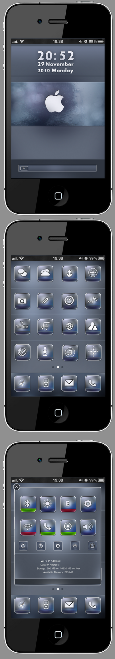 HD iPhone theme by RC-man-Design