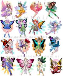 Haditas ll Fairies by DewNoir