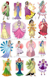 Princesas ll Princess by DewNoir